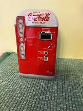 Coca Cola Vending Machine Tin - Vendo - 2001 - Front door is hinged to tin
