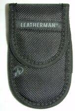 Leatherman flat Nylon Sheath Wave, Charge, Skeletool, Sidekick, Rebar. Grey Logo