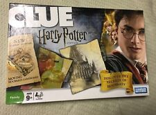 Clue Board Game Harry Potter Edition  With Moving Hogwarts Gameboard -Complete-
