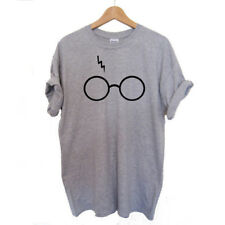 Harry Potter Glasses T-Shirt Casual Fashion Women Simple Print 1PC New S-3XL