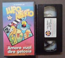 VHS Ita Animazione LUPO ALBERTO Amore Vuol Dire Gelosia STARDUST no dvd(VH60)