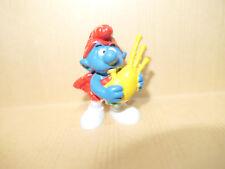 Figurine Schtroumpf de Peyo par Bully - (Smurf Pitufo Schlumpfe) - RARE