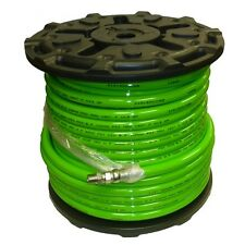 """1/2"""" x 200' Sewer Jetter Hose 4,000 PSI Green (SOLxSWV) INDUSTRIAL HOSE FREE SH"""