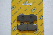 REAR BRAKE PADS fit HONDA ATC 250 R, 85-86 ATC250R