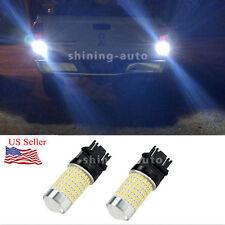 2x Super bright 2800 LM 3157 6000K White Backup Reverse LED Light Bulb car lamp