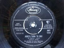 """LESLEY GORE Judy's Turn To Cry - Mercury 7"""" (1963)"""