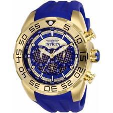 Invicta Speedway Scuba 26302 Men's Round Analog Chronograph Blue Silicone Watch