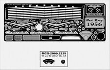 MODEL CAR GARAGE 2235 1956 CHEVY DEL RAY DETAIL SET FOR REVELL KIT  (PHOTO ETCH)