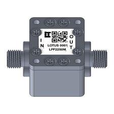 Low Pass Filter (LTCC Construction) Pass Band DC-2250MHz