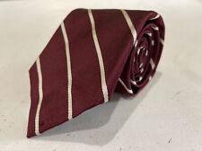 Polo Ralph Lauren Men's Red Striped Silk Neck Tie $78