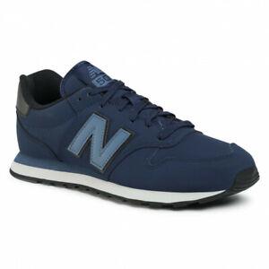 Scarpe da ginnastica da uomo blu New Balance New Balance 500 ...