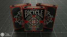 More details for bicycle playing cards deck - crimson red - medieval - card collectors