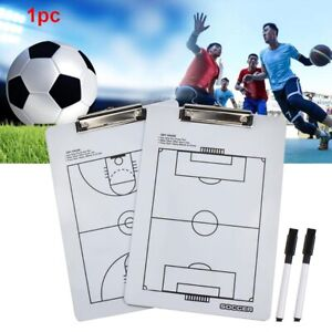 Coaching Board Football Basketball Whiteboard Wear Resistant Marker Waterproof