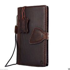 genuine real leather Case for Samsung Galaxy S6 edge book wallet luxury cover D