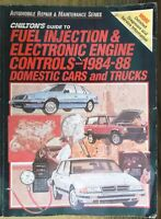 Chilton's Guide to Electronic Engine Controls 1984-1988 Service Shop Manual 7768