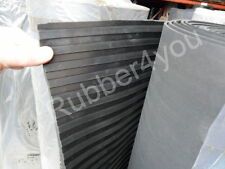 BROAD Ribbed Trailer Ramp Horsebox Rubber Floor Matting 2m x 5mm FREE DELIVERY