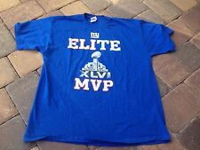 Gildan Heavy Cotton New York NY Giants ELIte Superbowl XLVI MVP T-Shirt Size XL