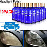 10Pack Car Auto 9H Hardness Headlight Lens Restorer Repair Liquid Polish Cleaner