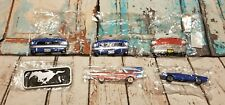 Mixed Lot Of 6 Vintage style Car Magnets Fridge Refrigerator t7