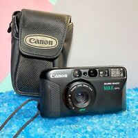 Canon Sure Shot Max Date 35mm Compact Point & Shoot Camera Lomo Retro Working