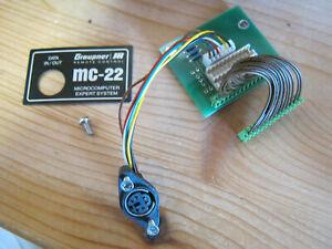 Graupner Schnittstellenverteiler MC 22 mit Anschlussplatine