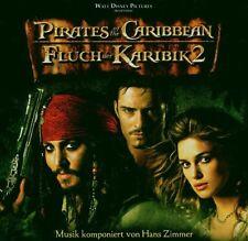 """Hans stanza/East """"maledizione dei Caraibi 2"""" COLONNA SONORA CD NUOVO"""