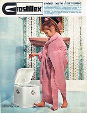 PUBLICITE ADVERTISING 035  1964  GROSFILLEX   poubelle à pédale