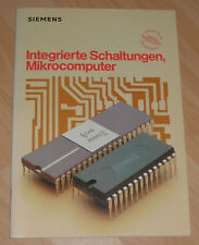 Attic find Siemens circuits Microcomputers Catalog technology 80er booklet OLD