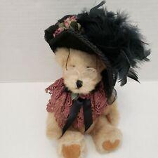 Vintage Bears & Bunnies Folk Art Donna Salveta  Beary Elegant Chic Decor1996