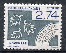 STAMP / TIMBRE FRANCE NEUF PREOBLITERE 196 ** LES MOIS DE L'ANNEE / NOVEMBRE
