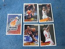 ancien cartes panini NBA basket Miami Heat 94 95 collection