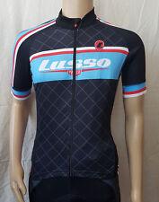 Lusso Men's Team Short Sleeve Cycling Jersey Medium B.N.I.B.W.T RRP £34.99