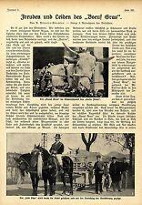 """Karneval-Freuden und Leiden des """"Boeuf Gras"""" mit 5 histor. Aufnahmen von 1910"""
