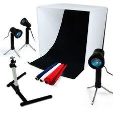Lusana Studio Photography Table Top Box Light Folding Photo Lighting Box Kit