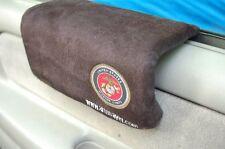 ██████  U.S. MARINES BLACK ARMREST,window truck,car arm rest pad door patch