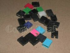 "100 Jumpers/ shunts 2 Pin 2.54mm / .1 "" CD, Scsi, IDE, HD, Network, and other"