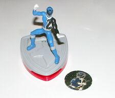S.P.D. / Dekaranger _ McDonalds Released _ Blue Ranger Pog / Disk Shooter