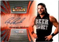 TNA Robert Roode 2010 Tristar New Era Autograph Card