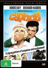 Caprice (DVD) Doris Day / Richard Harris  - Region 4 - New and Sealed