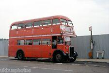 London Transport RT651 Petts Wood Station Aug 1978 Bus Photo B
