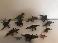 Dinosaur toys Bundle toy job lot figure set