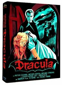 Dracula - Christopher Lee - Blu-ray Mediabook - Cover B - ANOLIS Hammer Edition