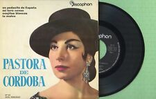 PASTORA DE CORDOBA / Mi Toro Nevao / DISCOPHON 27.131 Pressing Spain 1962 EP EX