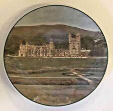 Vintage Balmoral Castle Souvenir Royal Doulton Plate Tc 1095 England Landscape