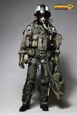 VERY HOT U.S. NAVY VFA-41 Black Aces Pilot Set 1/6 IN STOCK