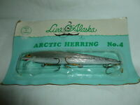 Vintage Carded Lure O' Alaska (Taiwan) Arctic Herring No. 4  Lure  Lot 3-584