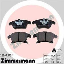 1x Bremsbelagsatz  Scheibenbremse ZIMMERMANN 22269.195.1