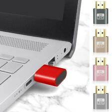 HDMI Virtual Display Adapter HDMI DDC Dummy Plug Display Emulator Play Adapter ~
