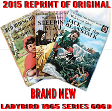 Ladybird Book, Set of 3 Jack and the beanstalk, Red Riding Hood, Sleeping beauty