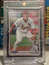 Nolan Gorman 2020 Bowman Draft Black 1/1, Cardinals, Hot Prospect! 🔥🔥
